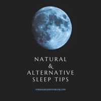Natural and Alternative Sleep Tips