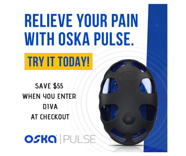 pemf therapy with oska pulse. promo code diva saves $55