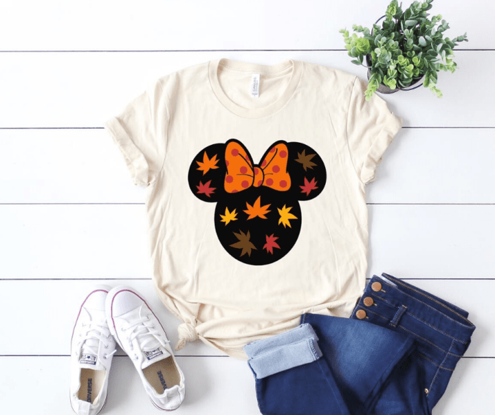 minnie mouse thanksgiving shirt