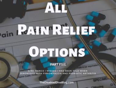 All Pain Relief Options