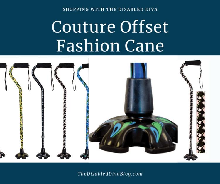 Couture Offset Fashion Cane