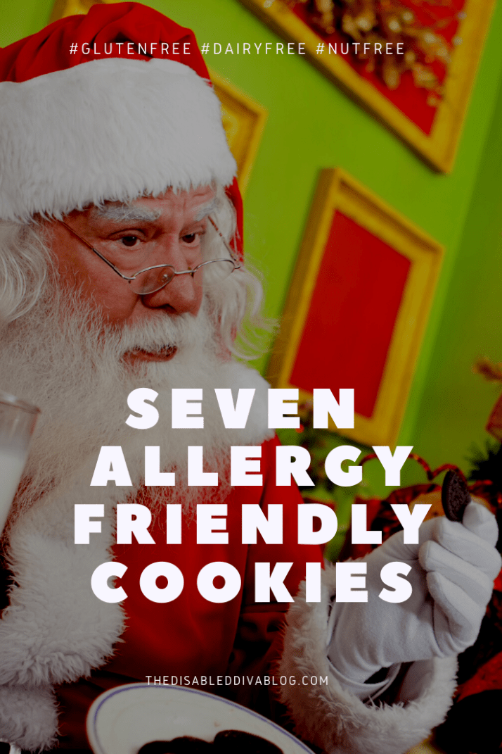 Before putting cookies out for Santa, be sure he isn't allergic to them! Here are seven allergy-friendly options that will keep his belly happy!