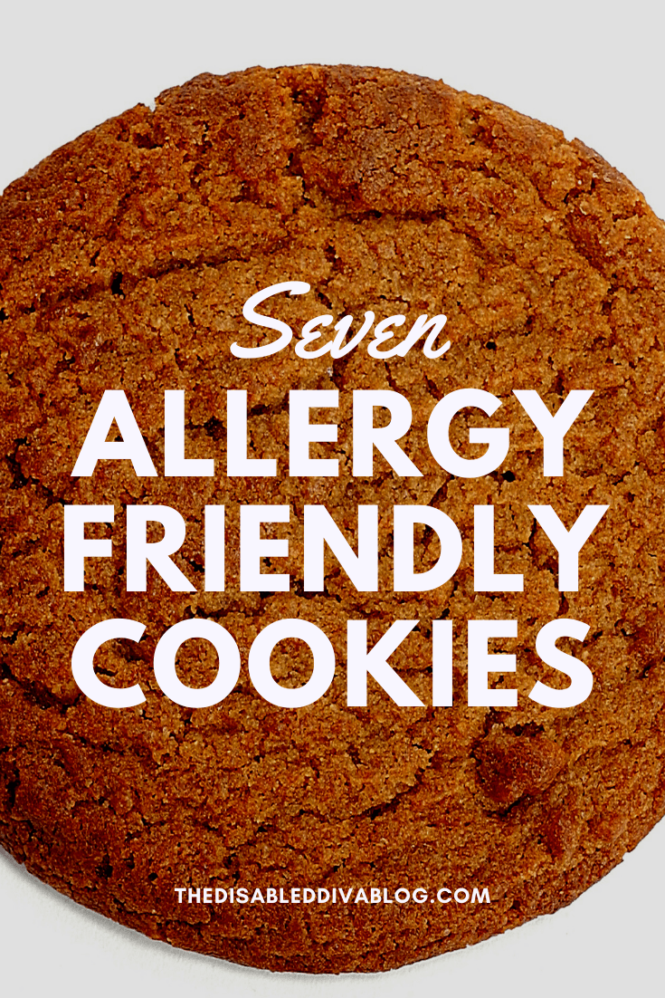 Not everyone is able to enjoy the cookies shared at most potlucks, parties, family gatherings, and holiday celebrations because of food allergies. The Disabled Diva shares 7 allergy-friendly options to share with your friends and family!