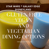 Star Wars * Galaxy Edge * Disneyland * Gluten-Free, Vegan, and Vegetarian Dining Options