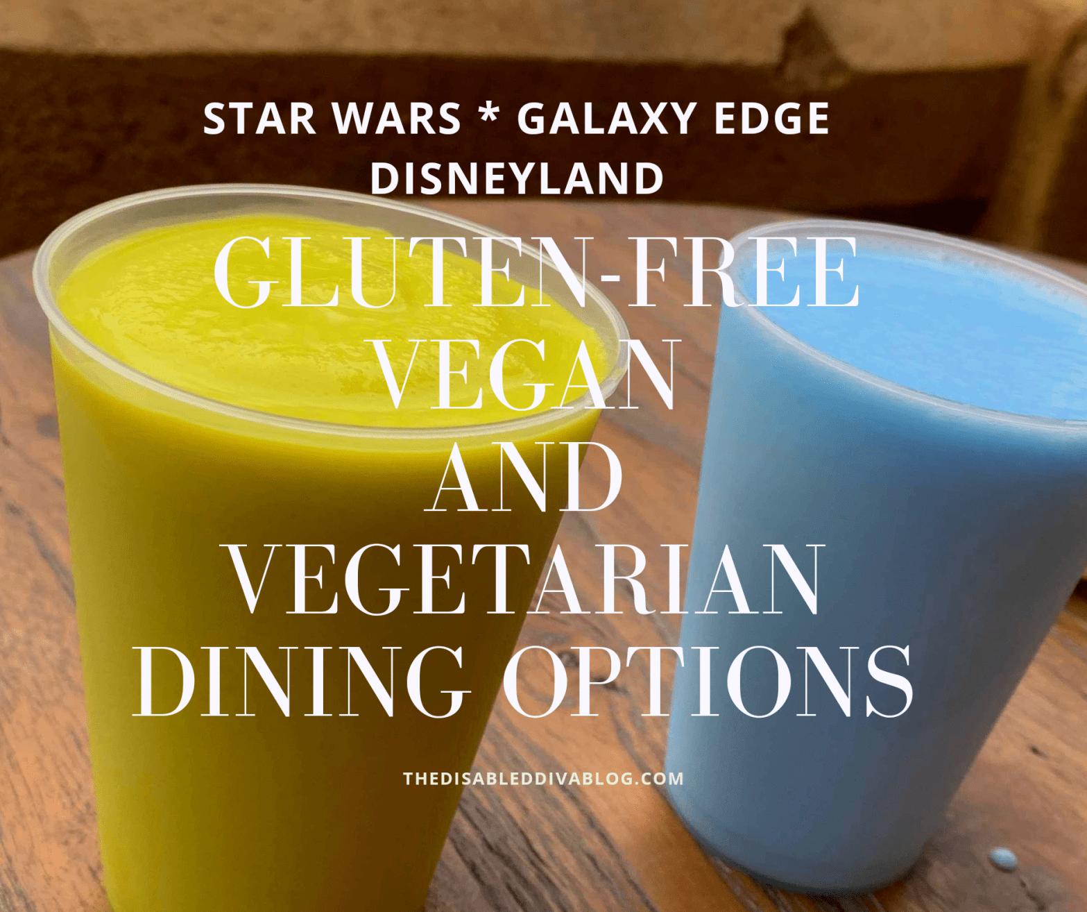 dining options for star wars galaxy edge Disneyland