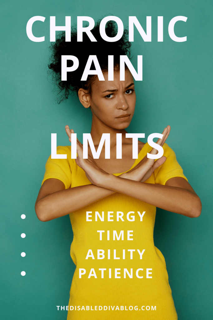 My Word of the Week is Limited * How My Current Chronic Pain Flare is Limiting My Time, Energy, Ability, and Patience. How I am Getting By without Giving Up!