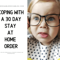 Coping with a 30 Day Stay at Home Order in California