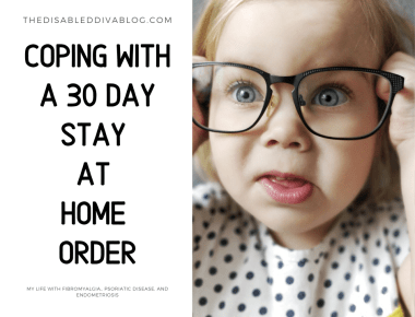 My Word of the Week is Coping Coping with 30 day stay at home order in California (