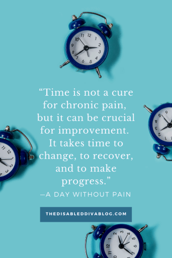Time and Chronic Pain Quote