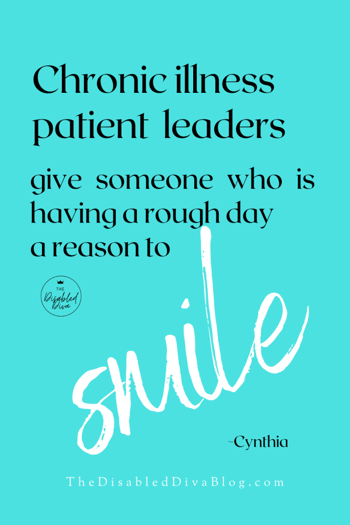 Chronic illness patient leaders give someone who is having a rough day a reason to smile  Follow and support this list of #fibromyalgia #arthritis and #endometriosis advocates for smiles and more.