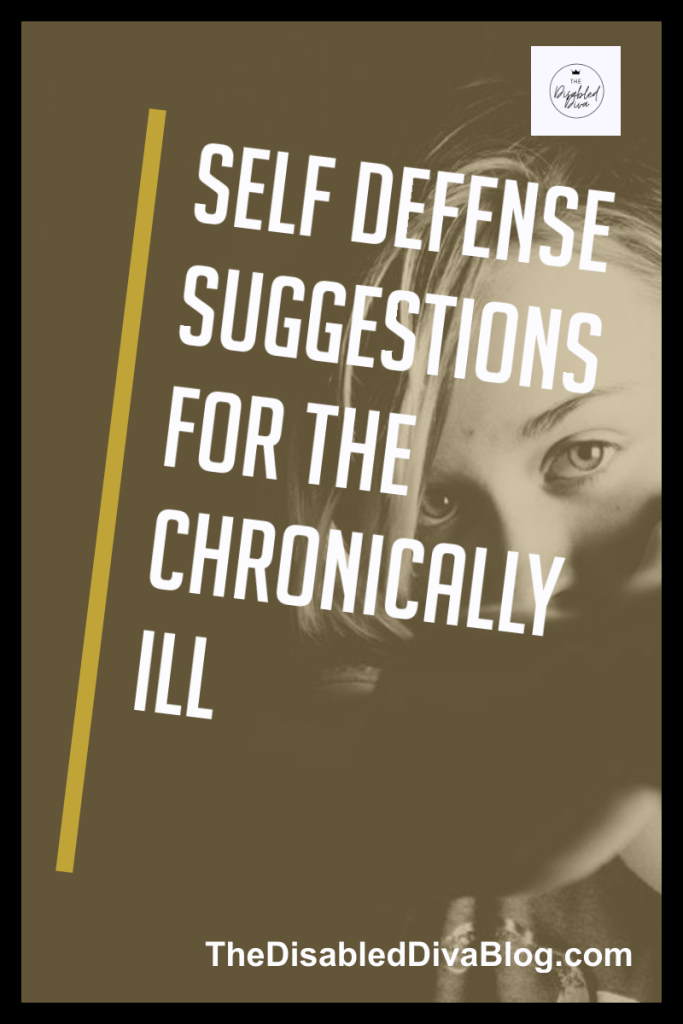 Living with chronic illness and pain is scary and unpredictable enough without fear of being attacked or taken advantage of. Taking the initiative to learn and practice self-defense will empower and increase your confidence.