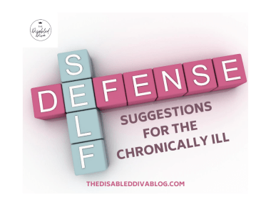 Self-defense product suggestions for the chronically ill. Stay safe at home and on the go.