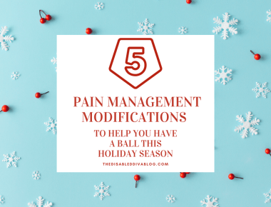 Pain management modifications to help you keep up with your most important holiday traditions while preventing and limiting fibromyalgia and arthritis flares from ruining your entire holiday season.