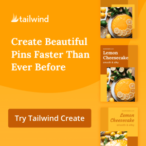 Create and schedule stunning pins on Pinterest with Tailwind. Try for free.