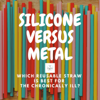 Silicone Straws Versus Metal Straws - Which Is Better For The Chronically Ill?