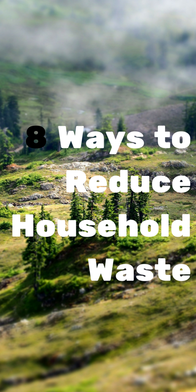 8 way to reduce household waste to celebrate Earth Day every day