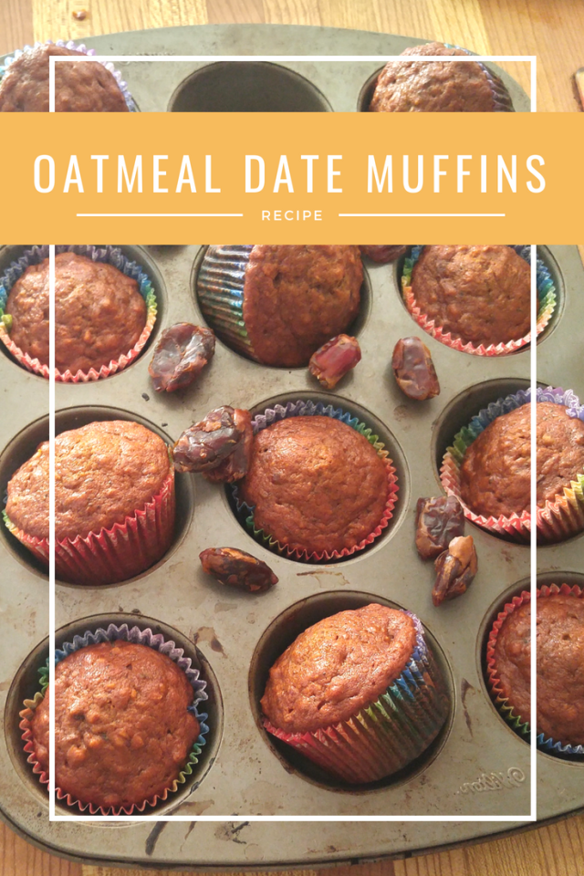 Oatmeal Date Muffins - Quick, Easy, and Budget-Friendly - vegan oatmeal date muffins - oatmeal date protein muffins - easy oatmeal date muffins - The Discount Vegan
