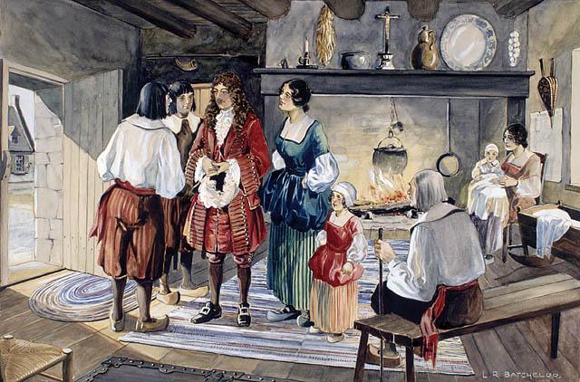 Jean Talon Intendant Of New France 16651672 Library