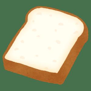 食パンを冷凍するために1枚ずつにする