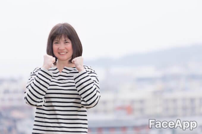 年寄りの顔になるアプリfaceappでおばあちゃんになるやり方!