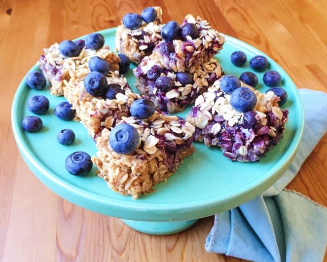vegan oat squares