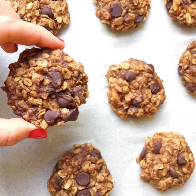 gluten free banana bread cookies