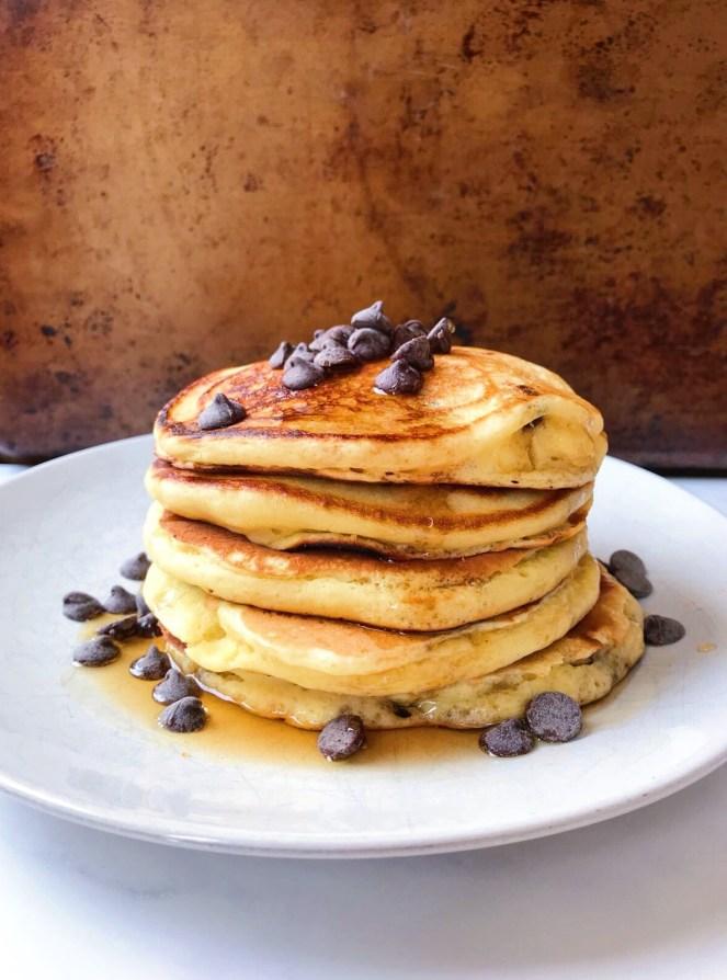 fluffy oatmeal chocolate chip pancakes.JPG