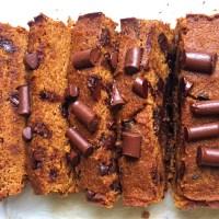 Paleo Chocolate Pumpkin Loaf