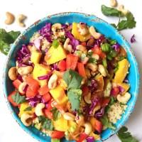Thai Quinoa Spring Salad