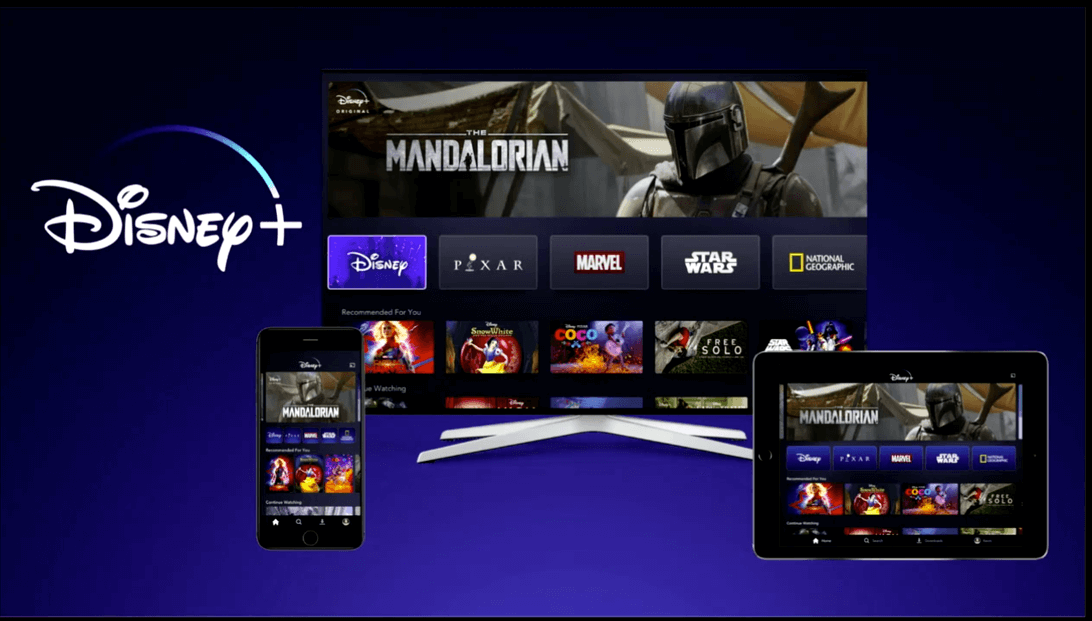 Disney+ on multiple devices