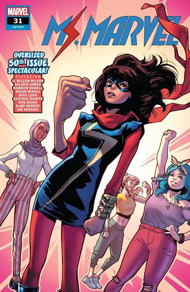 Kamala Khan first appearance Captain Marvel #14