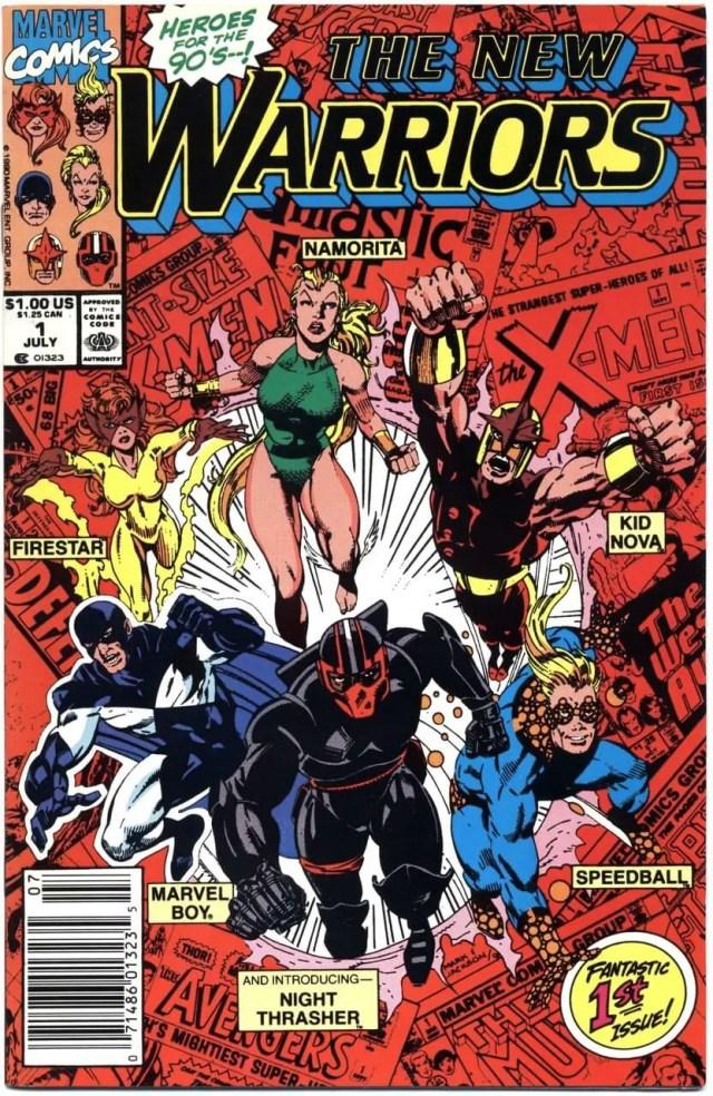 New Warriors comic #1