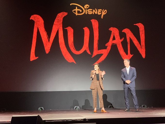 Mulan director Niki Caro at D23 Expo