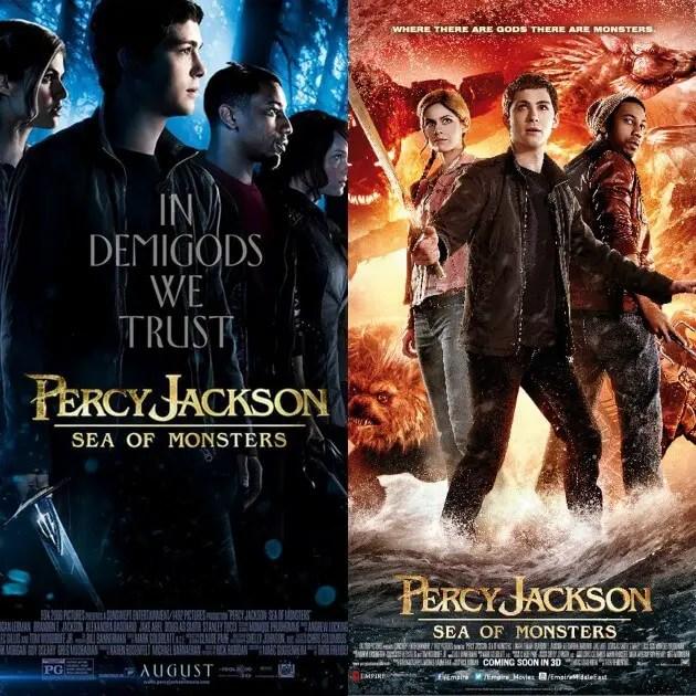 Percy Jackson movies