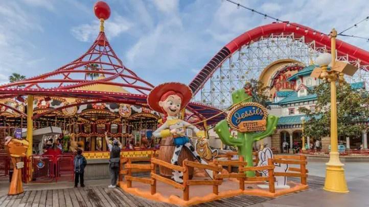 Disneyland Disney California Adventure Rides