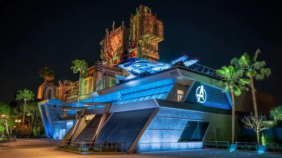 Avengers Headquarters at Disneyland's Avengers Campus