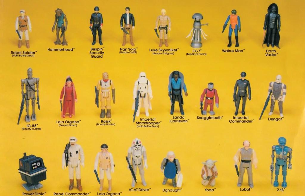Star Wars figures, Kenner
