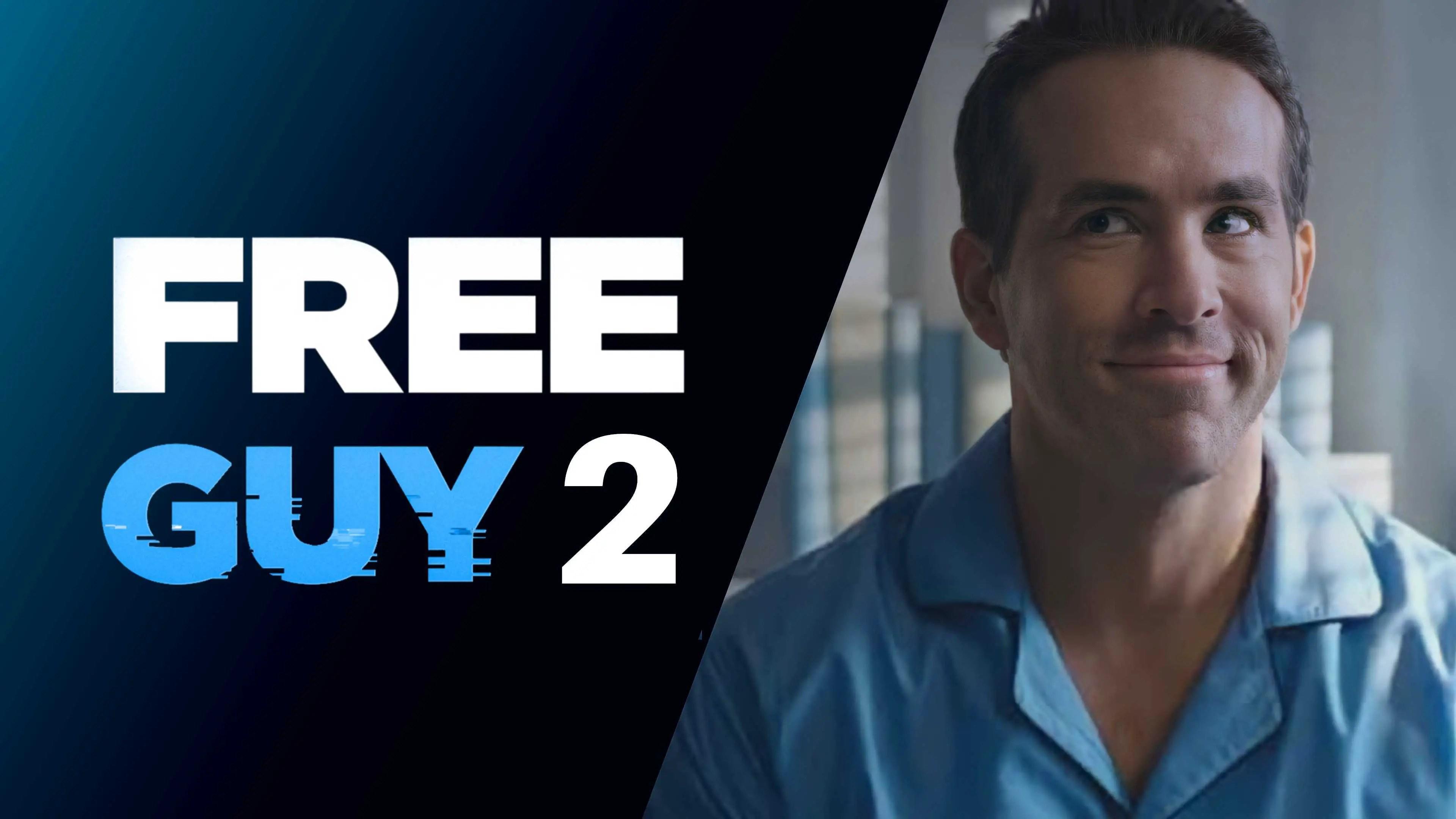 Free Guy 2, Free Guy, Ryan Reynolds