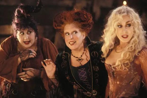 The Sanderson Sisters in the original film.