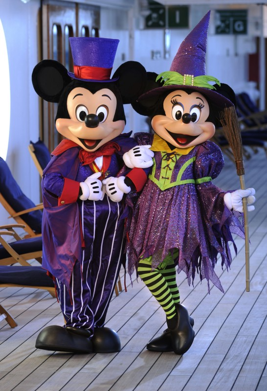 Disney Cruise Line Sets Halloween Entertainment For Late