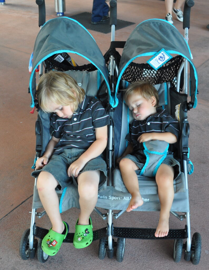 children sleeping wdw visit - THINGS MY CHILDREN MUST HAVE ON THEIR DISNEY VACATION