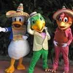 THREE CABALLEROS CHARACTERS