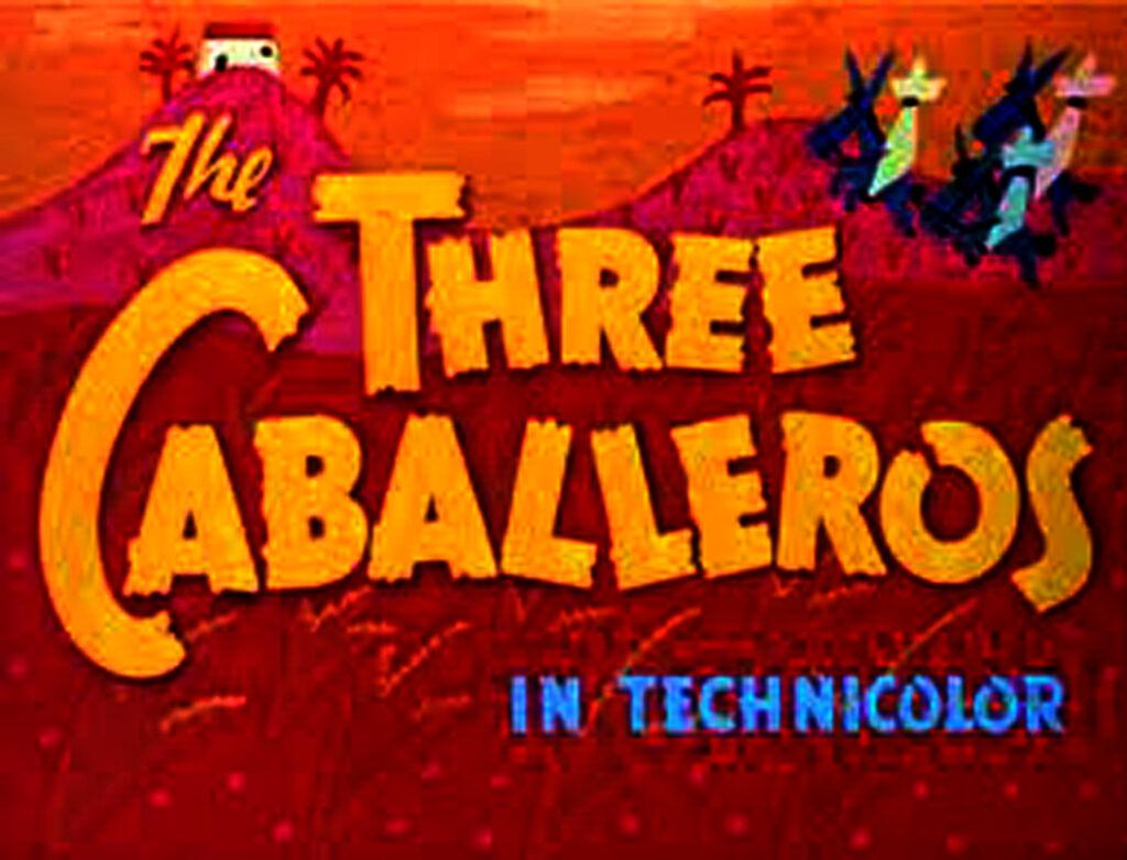 THREE CABALLEROS TITLE