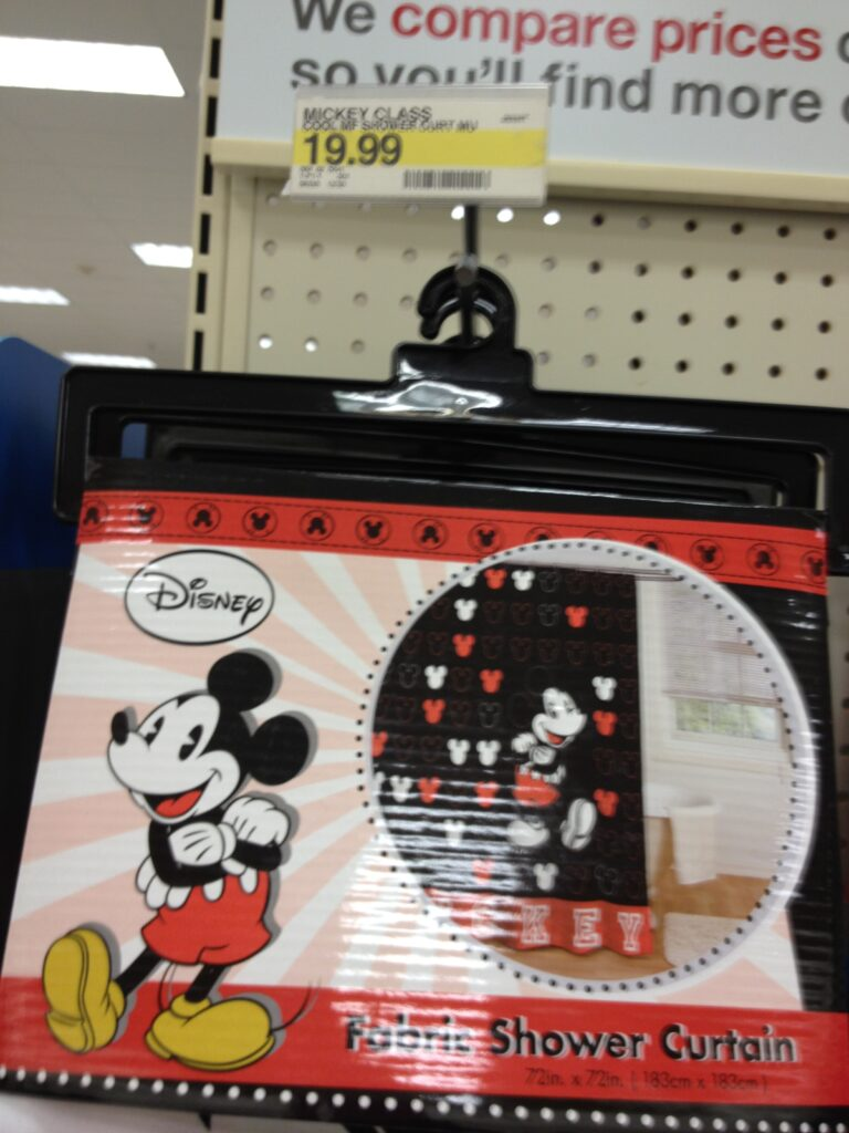 Inspirational Disney Bathroom Items at Target