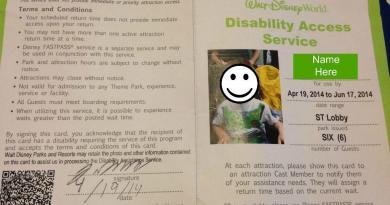 Disability Access Card DAS