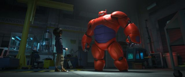 """""""BIG HERO 6""""  HIGH-TECH HERO — Hiro Hamada transforms his closest companion—a robot named Baymax—into a high-tech hero in the action-packed comedy-adventure """"Big Hero 6""""--in theaters Nov. 7, 2014.   ©2014 Disney. All Rights Reserved."""