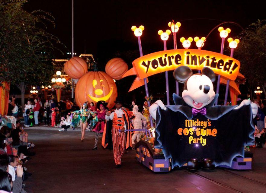 Mickey's Halloween Party at Disneyland California