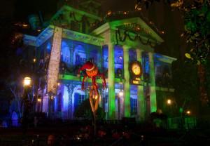 HALLOWEEN TIME at the Disneyland Resort, Haunted Mansion Holiday (Paul Hiffmeyer/Disneyland)