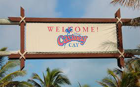 Castaway Cay Welcome Sign