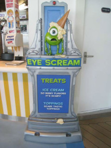 Eye Scream Disney Fantasy